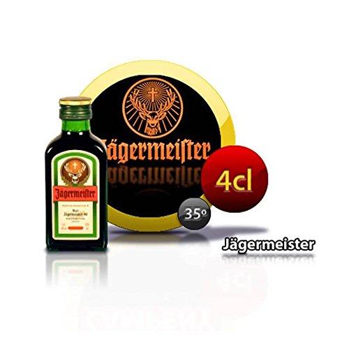 Miniaturas de licor Jagermeister de 4cl para regalar en celebraciones a tus invitados (Pack 24 ud)