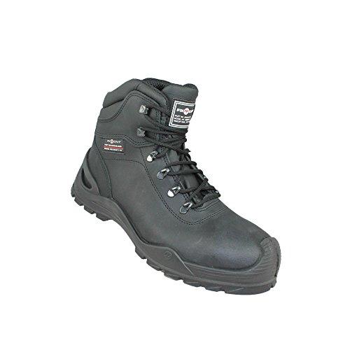 Aimont miles s3 sRC chaussures berufsschuhe businessschuhe chaussures de trekking (noir) Noir - Noir