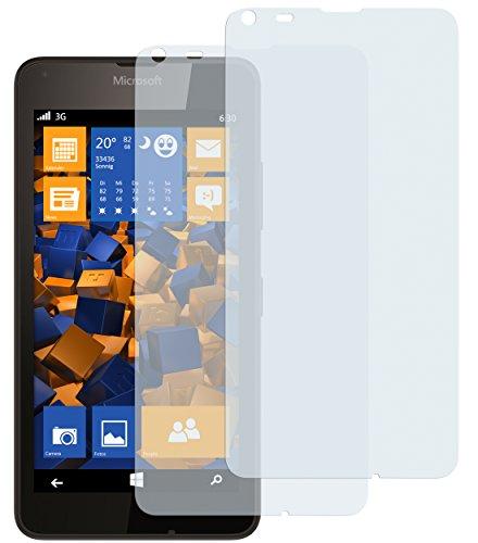 2 x mumbi Displayschutzfolie Microsoft Lumia 640 Schutzfolie