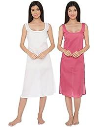ADA Women's Cotton Combo Set of 2 Slips