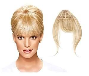 Hairdo Bangs Hair Extension - Frange Extension de Cheveux à Clipser - Bang Clip In (R22 Swedish Blonde)