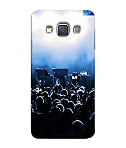 FUSON Designer Back Case Cover for Samsung Galaxy A3 (2015) :: Samsung Galaxy A3 Duos (2015) :: Samsung Galaxy A3 A300F A300Fu A300F/Ds A300G/Ds A300H/Ds A300M/Ds (Dancers Singers Instruments Piano Musical Concert)