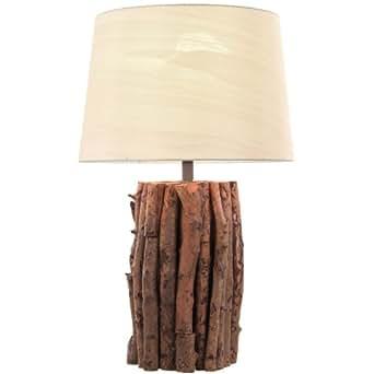 nachttischlampe holz tischlampe tischleuchte lampe leuchte. Black Bedroom Furniture Sets. Home Design Ideas