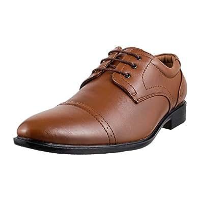 Msl Men's Tan Formal Shoes - 11 UK (19-3870)