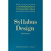 Language Teaching. a Scheme for Teacher Education: Syllabus Design