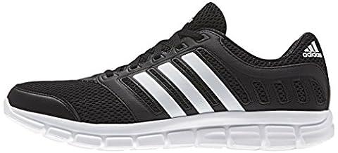 adidas Breeze 101 2, Herren Laufschuhe, Schwarz (Core Black/Ftwr White/Core