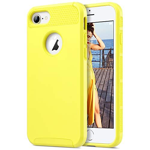 ULAK iPhone 7 Cover iPhone 7 Custodia con Design Slim con Doppio