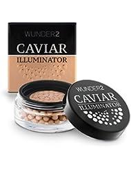 WUNDER2 Caviar Illuminator Cream Highlighter - für einen natürlichen Glow, Farbe: Golden Sand