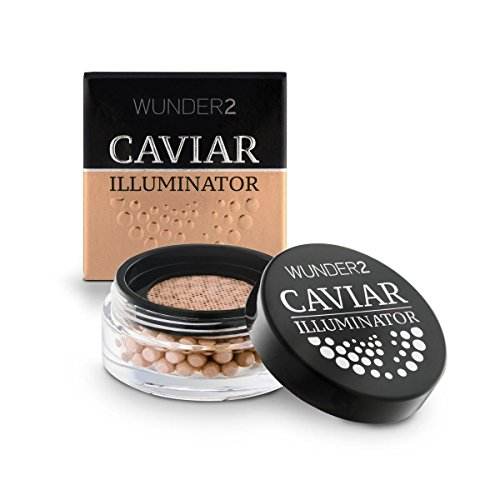 WUNDER2 CAVIAR ILLUMINATOR Enlumineur Nacré - Illuminateur Visage Crème Highlighter, Teinte Golden Sand
