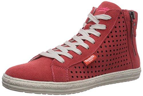 Dockers by Gerli 32LN242-200940 Damen Hohe Sneakers Rot (pfirsich 940)