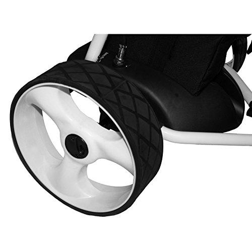 Bentley - Chariot de golf électrique - batterie 200 W et 35 A - blanc