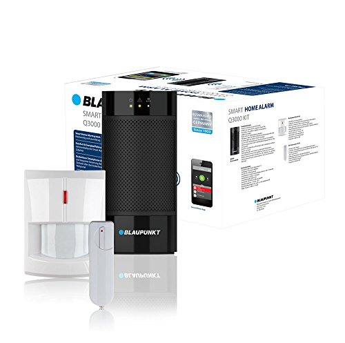 Blaupunkt Smart Home Alarm Q3000 Starter Kit; Smart Home Alarmanlage bzw. Funk-IP Sicherheitssystem...