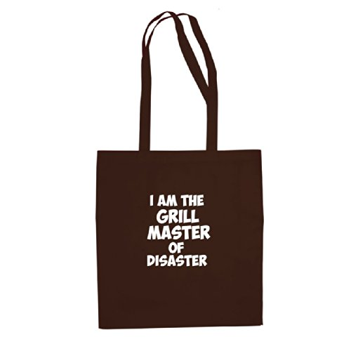I am the Grill Master of Disaster - Stofftasche / Beutel Braun