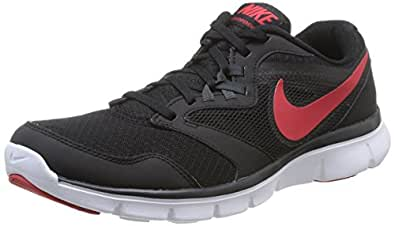 Nike Men's Flex Experience Rn 3 Msl Black,University Red,Anthracite,White  Running Shoes -7 UK/India (41 EU)(8 US)