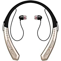 F.RUI BM-180 Deporte Inalambricos Auriculares Bluetooth Micrófono y Cancelación de Ruido Sonido