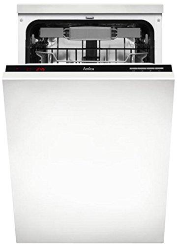 Amica Zim 446E–Spülmaschinen (vollständig integrierbar, Weiß, 47dB, A +, 0,83kWh, 9)