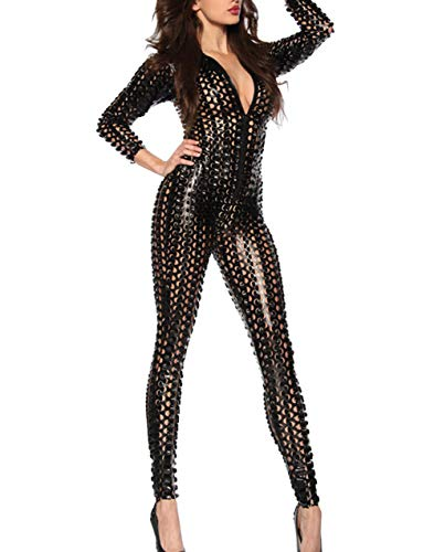 Catwoman Overall - Panegy Glanz Playsuit Catwoman Transparent Overall