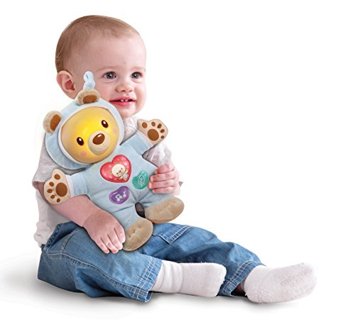 Vtech Nachtlicht Schmusebärchen zum Kuscheln und Einschlafen - Kindernachtlicht, baby einschlafhilfen, Baby