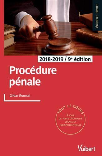 Procédure pénale 2018-2019