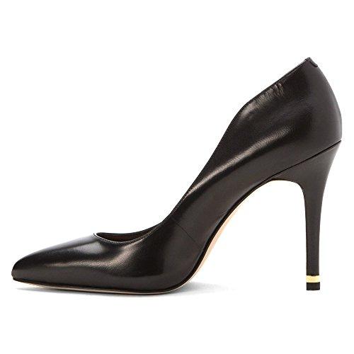 Michael Michael Kors pompa Arianna pompa le scarpe Black Leather