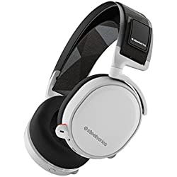 SteelSeries Arctis 7, Casque Gaming, Sans fil, DTS 7.1 Surround pour PC, PC / Mac / PlayStation 4 / Android / iOS / VR - Blanc