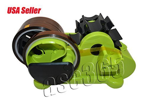 1pc Multi-function Green Tape Holder and 5rolls Heat Resistant Tape for Home Sublimation Small Heating Transfer Business by Sublimation Molds&Clamps