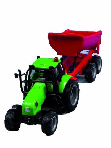 Kids Globe 510653 - Traktor mit Anhänger, farblich Sortiert Preisvergleich