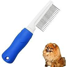 HLDUYIN Peine de Mascotas para Perros y Gatos