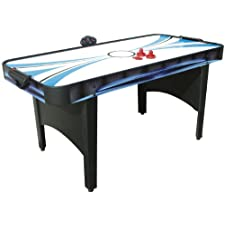 Mightymast Typhoon 2 In 1 Air Hockey And Table Tennis Table – Black