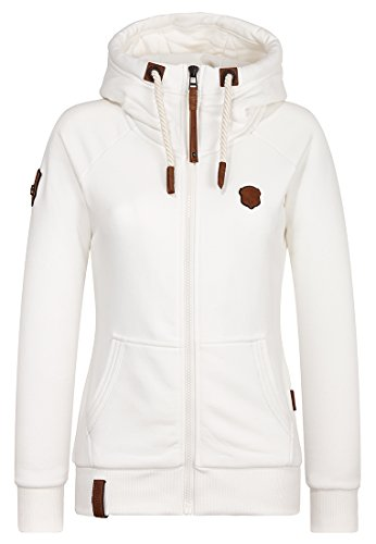 Naketano Female Zipped Jacket Brazzo So Natural Melange, M