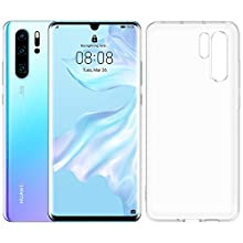 Huawei P30 Pro 128 GB 6.47 Inch OLED Display Smartphone with case, Leica Quad AI Camera, 8GB RAM, EMUI 9.1.0 Sim-Free Android Mobile Phone, Single SIM, Breathing Crystal (Exclusive to Amazon)