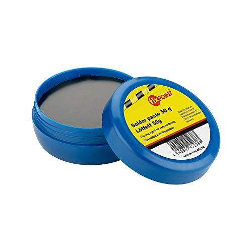 Fixpoint 45238 Lötpaste / Lotpaste (Solder Paste) SMD Lötfett Dose als Flussmittel zum Weichlöten zum Löten von oberflächenmontierbar Bauelemente