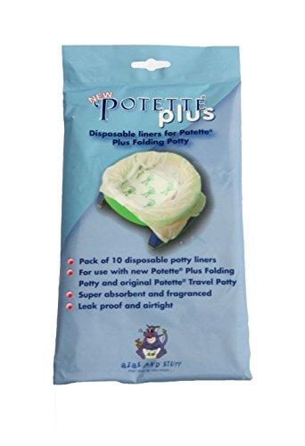 Potette Plus Einwegbeutel, 10 Stück