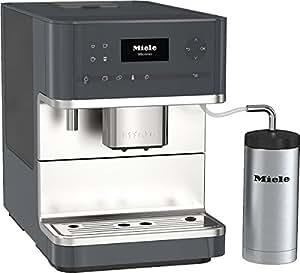 Miele CM 6310 Stand-Kaffeevollautomat (OneTouch für Zwei-Funktion, beheizter Abstellfläche, Cappuccinatore)