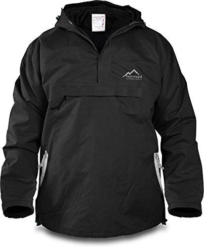 normani Winddichte Funktions-Jacke für Damen und Herren von S-4XL Farbe Black/Beige Größe XL