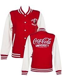 Womens Coca Cola University Varsity Jacket