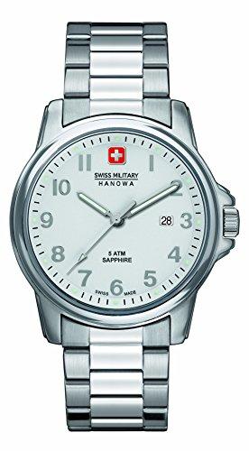Swiss Military - 6-5231.04.001 - Montre Homme - Quartz Analogique - Bracelet Acier Inoxydable Argent