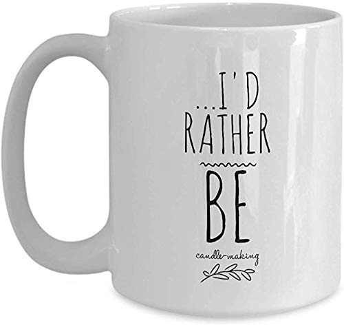 Candle Making Coffee Mug Christmas Ideas Co-Worker Gift Xmas Present for Women Tea Cup Funny Coffee Mugs with Sayings Cup Quotes Men Gag Gift Hobby Gift