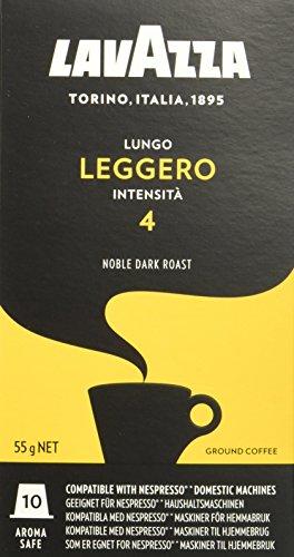 Lavazza Lungo Leggero, 50 Nespresso kompatible Kapseln (5 x 10 Kapseln)