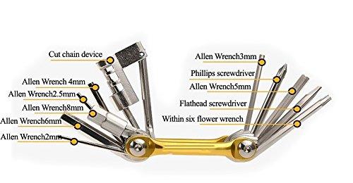 JOYORUN Werkzeug Kettengliedzange Linkfix, Schwarz-Blau, Fahrrad Ketten Werkzeug, Kettenverschluss-Glied, 678, 9, 10 fach Ketten - 6