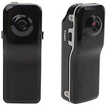 iiniim Mini DV Videocámara DVR MD80 Cámara de Vídeo Espía Cámara Oculta Cam Botón Cámara Video Audio Grabador de Seguridad con Batería