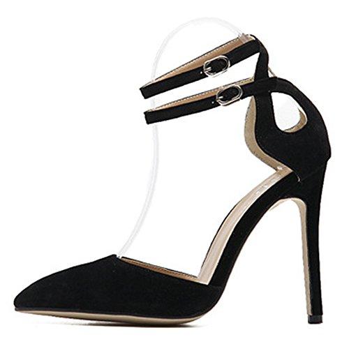 Aiguille Noir Femme Multicolore Talon Escarpins Aisun Trx07t Classique 35ALqRc4Sj
