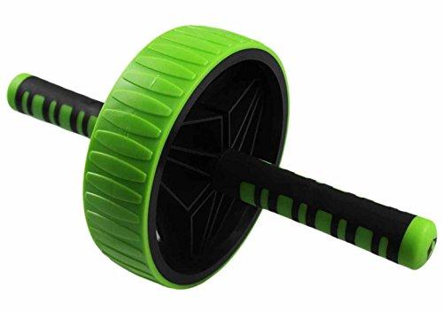 AB-Roller / Bauchtrainer / Bauch Roller »TheBodyWheel« / Ideal für Schulter-, Rücken- und Bauchmuskeltraining / zerlegbar, Farbe grün