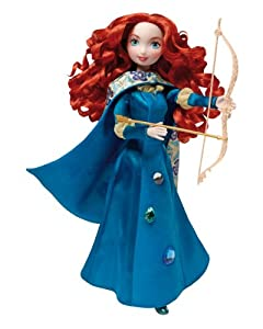 Disney Mattel X4005 Brave - Muñeca de Mérida con Piedras Preciosas