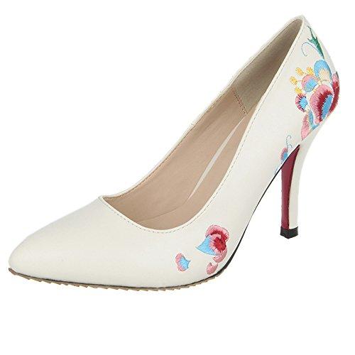 khskx-new donne scarpe primavera tacchi alti folk Wind Lady belle tacchi, Forty-one Thirty-four