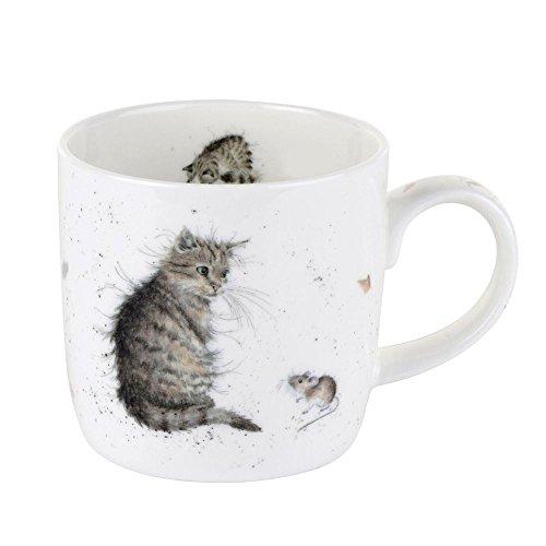 portmeirion royale chat Worcester et tasse de souris unique tasse