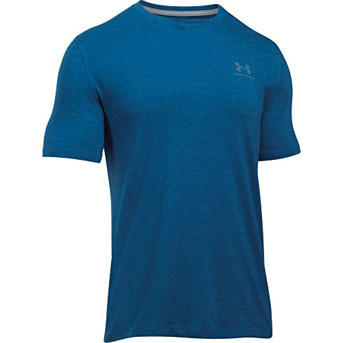 Under Armour Herren Fitness Cc Left Chest Lockup Kurzarm T-Shirt Heron
