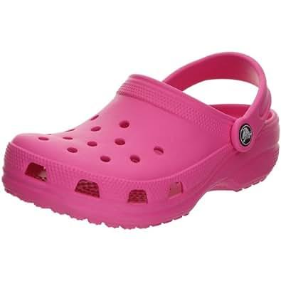 Crocs Crocs Classic Kids, Unisex-Kinder Clogs, Pink (Fuchsia / 670), 34/35 Größe: