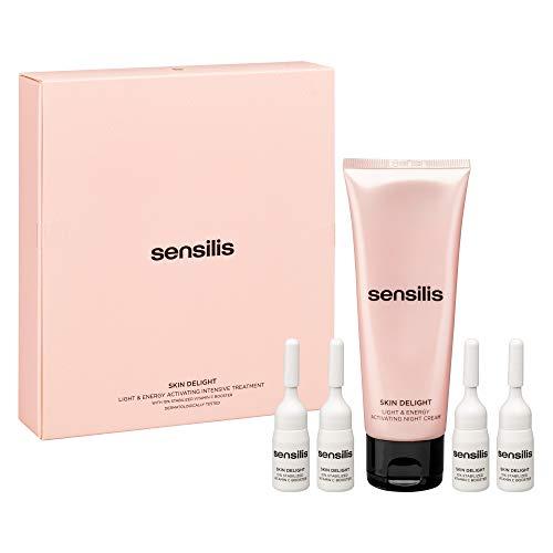 Sensilis Skin Delight Tratamiento Facial de Noche - 5 Piezas