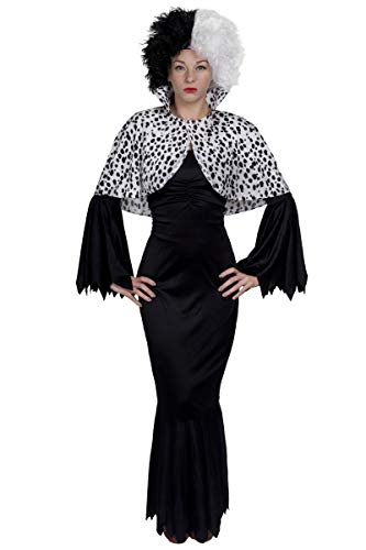 Fancy Dress Kostüm Disney - Evil Dog Lady Fancy Dress Kostüm - Lange